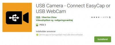 USB Camera Android App