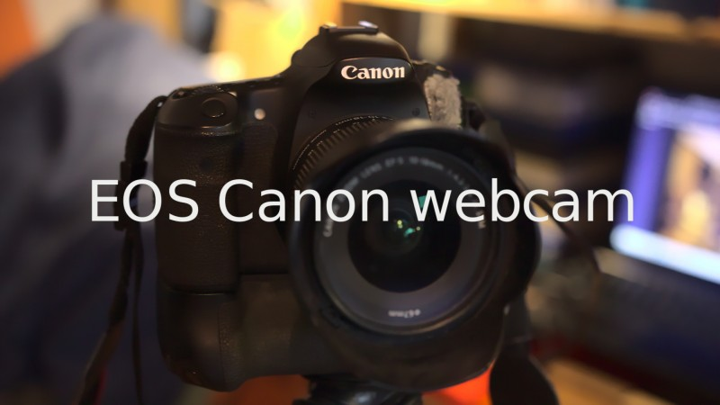 EOS WEBCAM (windows eller Apple IOS)