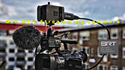 RTMP eller SRT streaming